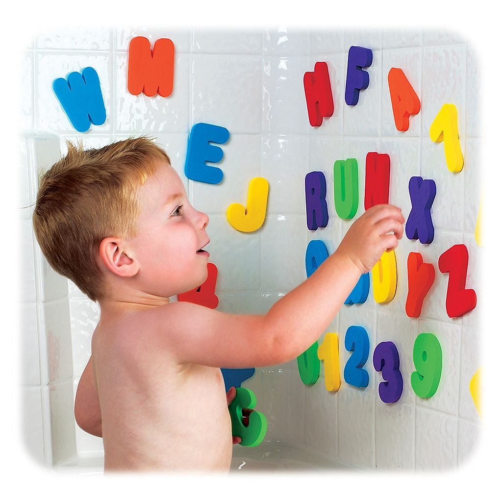 Munchkin® Letters & Numbers Bath Toy Set