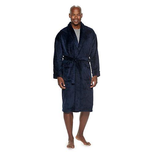 Men's Croft & Barrow® Solid Plush Robe