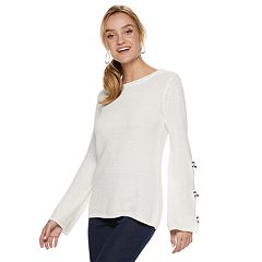 Women's ELLE™ Bow-Sleeve Sweater