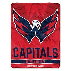 Washington Capitals 60' x 46' Raschel Throw Blanket