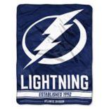 "Tampa Bay Lightning 60"" x 46"" Raschel Throw Blanket"