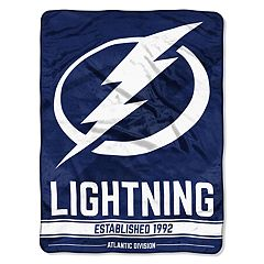 Tampa Bay Lightning 60' x 46' Raschel Throw Blanket