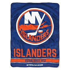 New York Islanders 60' x 46' Raschel Throw Blanket