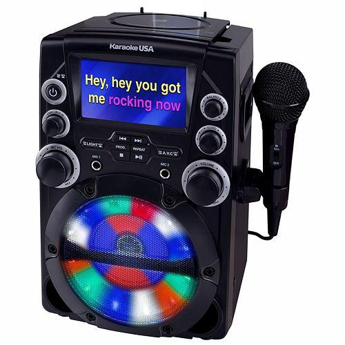 Karaoke USA GQ740 CD+G Karaoke System