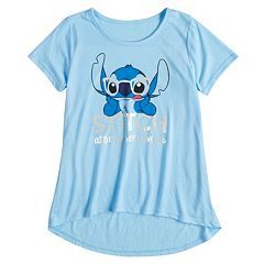 Disney's Girls 7-16 Stitch 'Ate My Homework' Graphic Tee