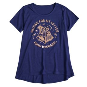 """Girls 7-16 Harry Potter """"Waiting For My Letter From Hogwarts"""" Graphic Tee"""
