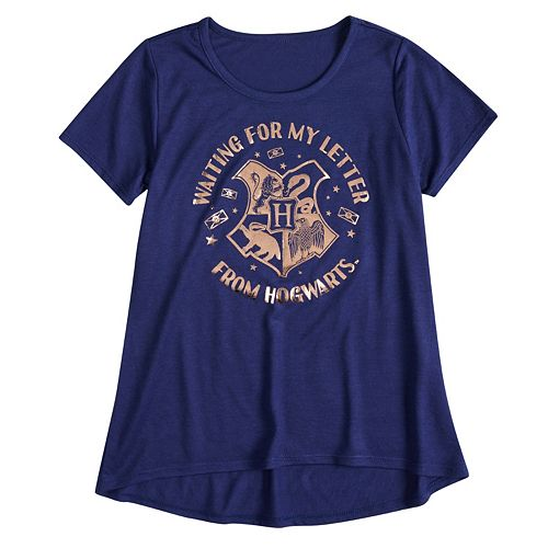 "Girls 7-16 Harry Potter ""Waiting For My Letter From Hogwarts"" Graphic Tee"