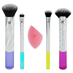 Real Techniques 5-Piece Neon Lights Brush Set