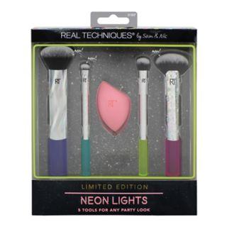 Real Techniques 5-Piece Neon Lights Brush Set