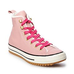 0984a16a2b9 Women s Converse Chuck Taylor All Star Hiker Boot High Top Shoes. Rust Pink  Pop ...