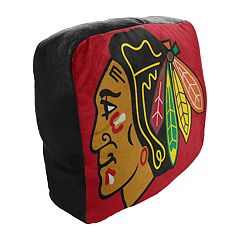 Chicago Blackhawks Logo Travel Pillow