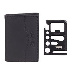 Men's Levi's® RFID-Blocking Wallet with Credit Card Multi-Tool