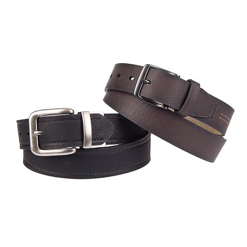 Men's Levi's® Boxed Belt Set