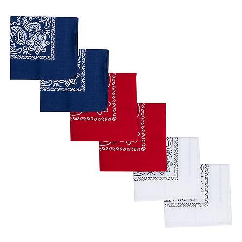 Men's Levi's® 6-pack Bandannas