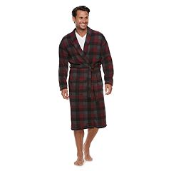 Men's Croft & Barrow® Plaid Sweater Fleece Robe