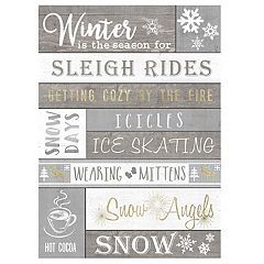 'Winter Is The Season' Wall Decor