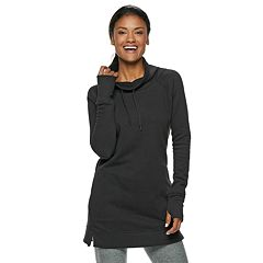 Women's Tek Gear® Funnel Neck Thumb Hole Tunic