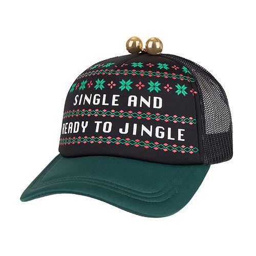 "Wembley ""Single and Ready To Jingle"" Trucker Cap"