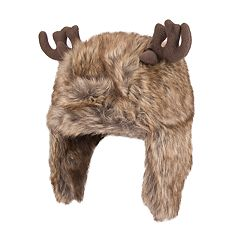 Wembley Faux-Fur Reindeer Trapper Hat