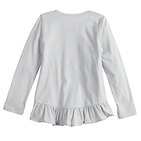 Disney's Minnie Mouse Girls 4-12 Ruffled-Back Long-Sleeve Tee by Jumping Beans®