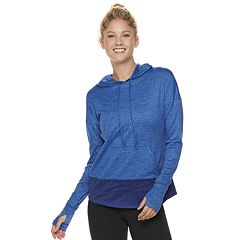Women's Tek Gear® Performance Brushed Thumb Hole Hoodie