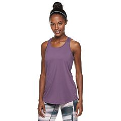 Women's Tek Gear® Open-Work Racerback Tank