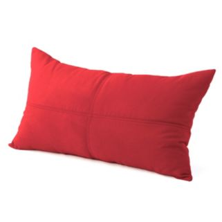 Brentwood Heavyweight Faux-Suede Oblong Pillow