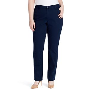 46e489325c8b Plus Size Lee Flex Motion Straight-Leg Pants. (33). Regular