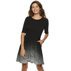 Women's Apt. 9® Fit & Flare Dress