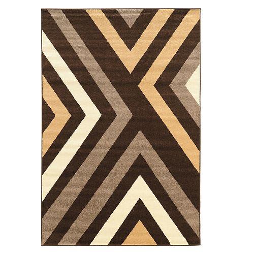 Linon Claremont Geometric Rug
