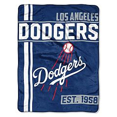Los Angeles Dodgers Raschel Throw by Northwest