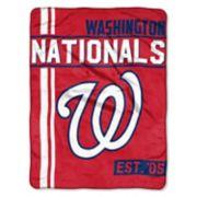 Washington Nationals Raschel Throw by Northwest