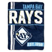 Tampa Bay Rays Raschel Throw by Northwest