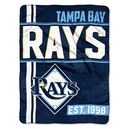 Tampa Bay Rays Raschel Throw by Northwest