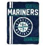 Seattle Mariners Raschel Throw by Northwest