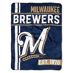 Milwaukee Brewers Raschel Throw by Northwest
