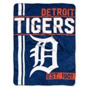 Detroit Tigers Raschel Throw by Northwest