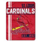 St. Louis Cardinals Raschel Throw by Northwest