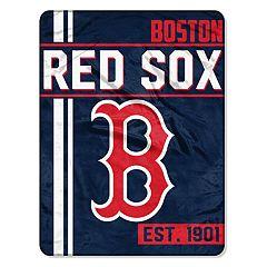 Boston Red Sox Raschel Throw by Northwest