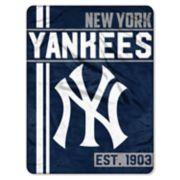 New York Yankees Raschel Throw by Northwest