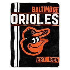 Baltimore Orioles Raschel Throw by Northwest