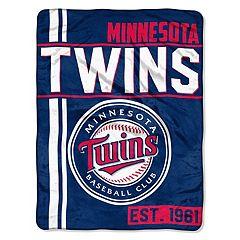 Minnesota Twins Raschel Throw by Northwest
