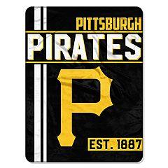 Pittsburgh Pirates Raschel Throw by Northwest