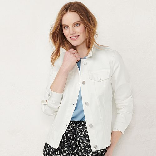 Women's LC Lauren Conrad Jean Jacket