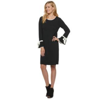 Women's ELLE? Tie-Sleeve Sweater Dress