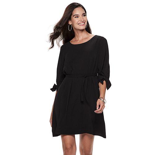 Women's ELLE™ Ruched-Sleeve Sheath Dress