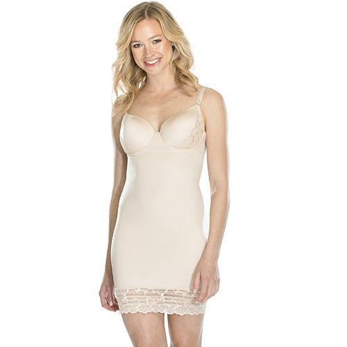 21e32e7b7a0ef ... Red Hot by Spanx Luxe & Lean Lace Full Slip 10070R