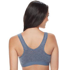 Women's Fruit of the Loom Signature Bras: Ultra Flex 2-pack Crop Top Low-Impact Sports Bra 2DDFBRA