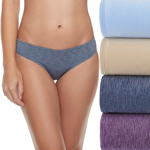 Fruit of the Loom Ultra Flex 4-pack Bikini Panties 4DDFBKS