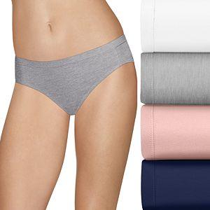 85ef11d5e607 Hanes Ultimate 4-pk Comfort Soft Bikini Panties 47HUSK